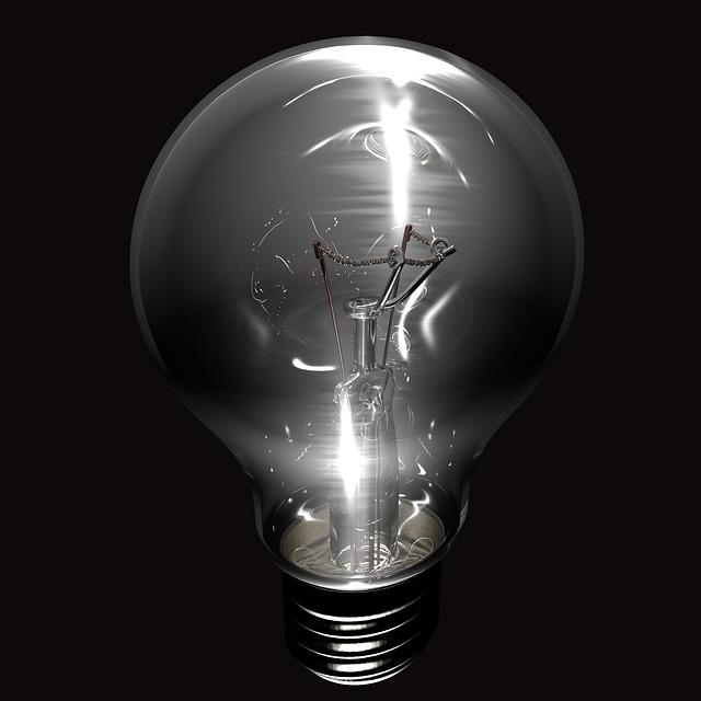 lesklá žárovka