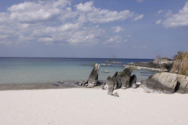 pobřeží Mosambiku