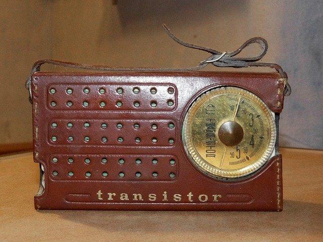starý tranzistor
