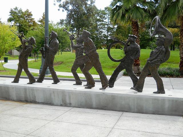 sochy hudebníků