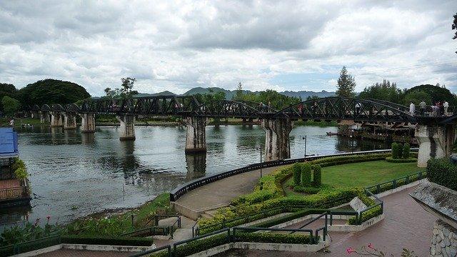 Thajsko a Železnice smrti